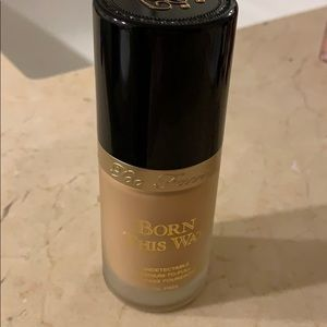 Too faced Born this way foundation Seashell